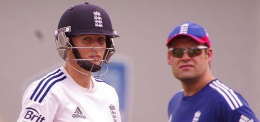England cricket batsman Joe Root